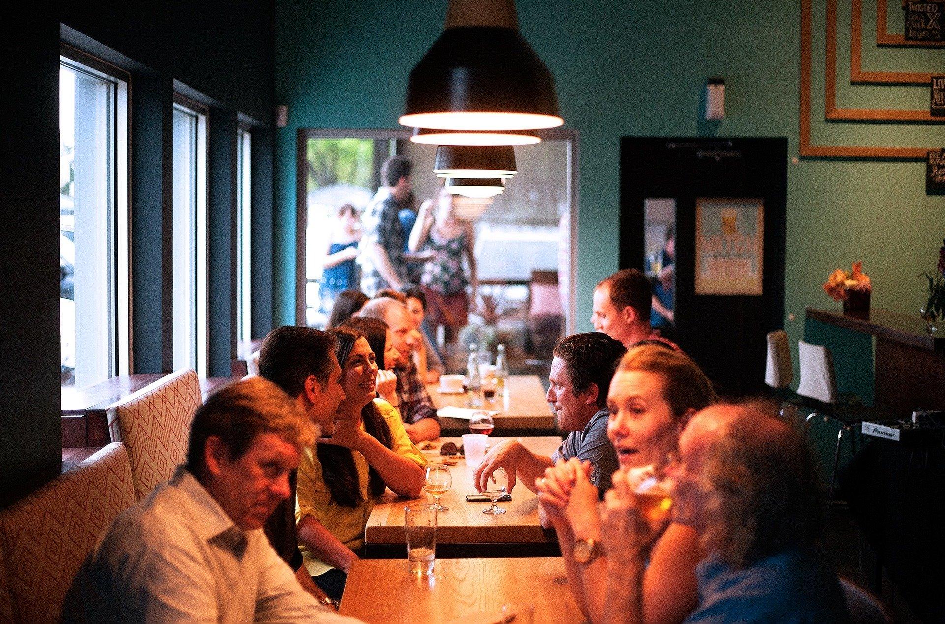 Ruido en Restaurante