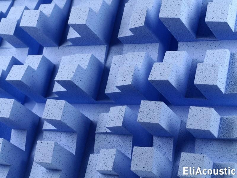 Difusor acustico de sonido EliAcoustic Fussor 3D Pure