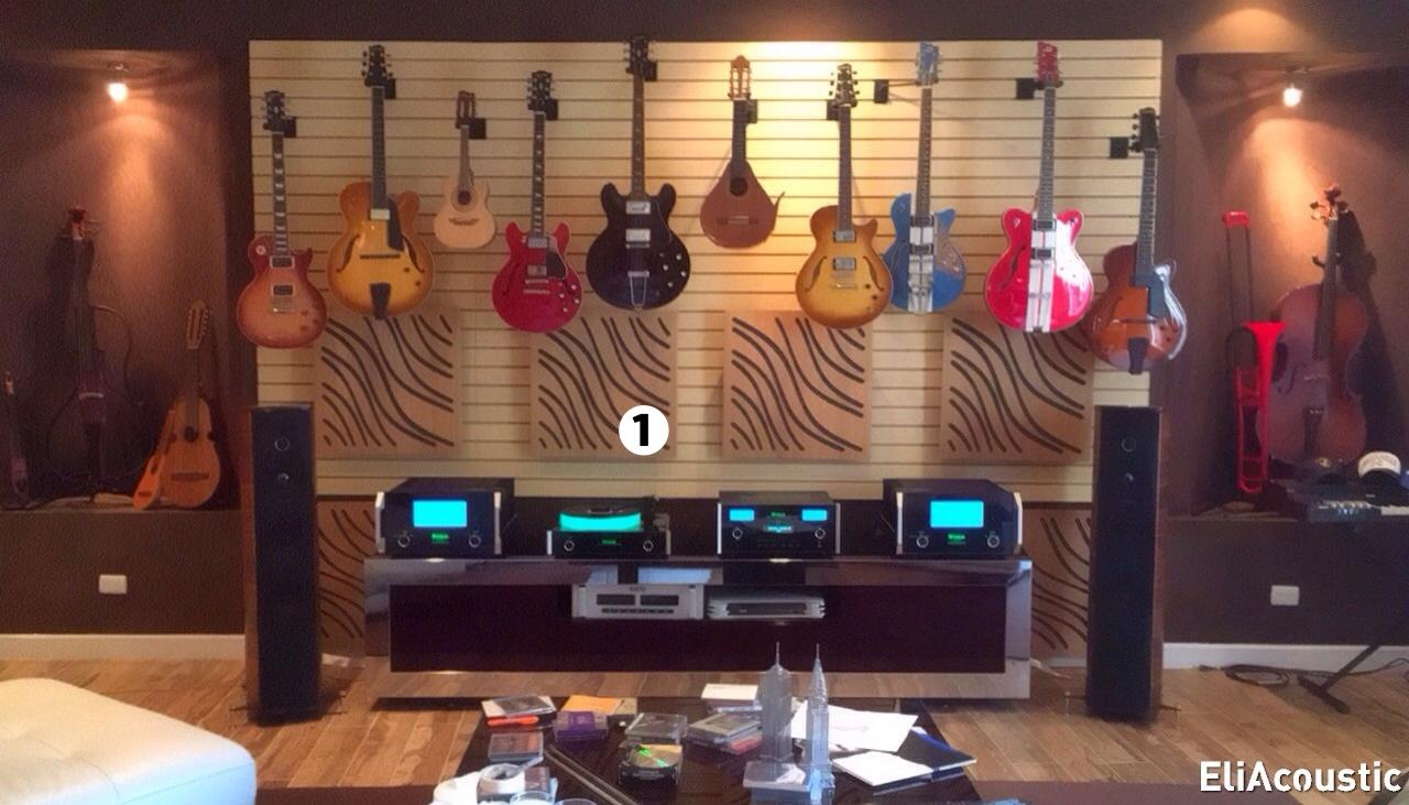 panel acustico de madera para mejorar sonido Hi-end