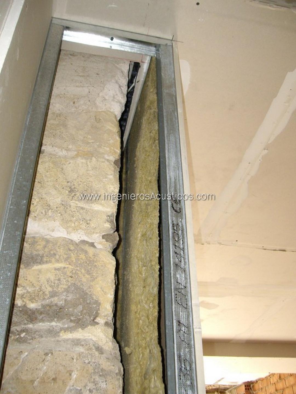 Insonorizar pared con pladur
