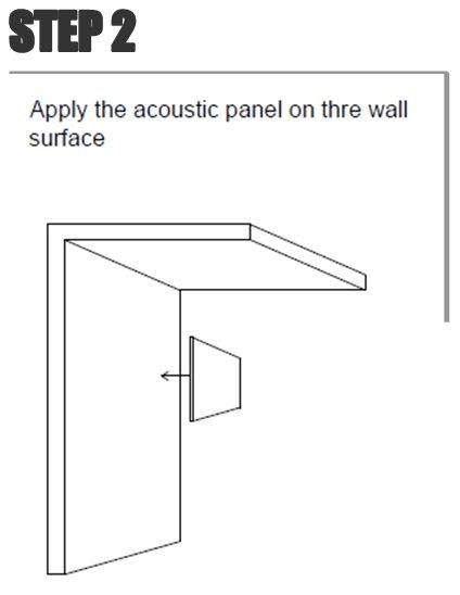 Situar el panel en su posición definitiva