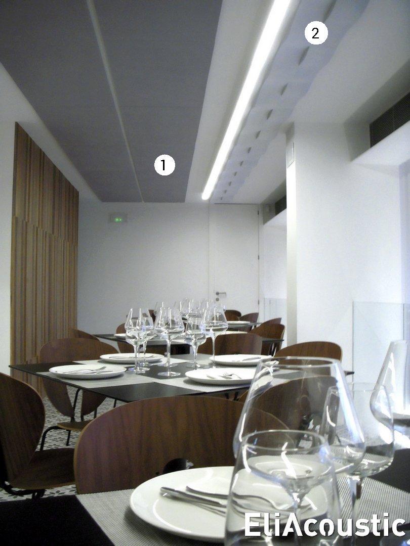 Reducir Ruido Restaurante EliAcoustic - ondas acusticas
