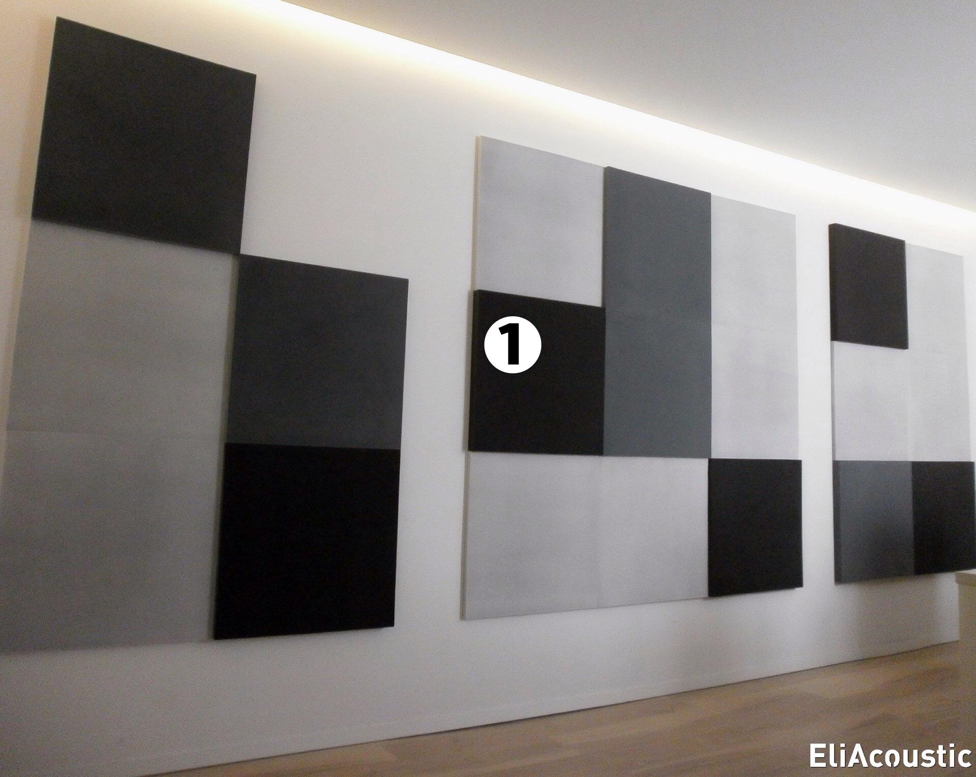 Panel acustico mosaico de pared para oficina