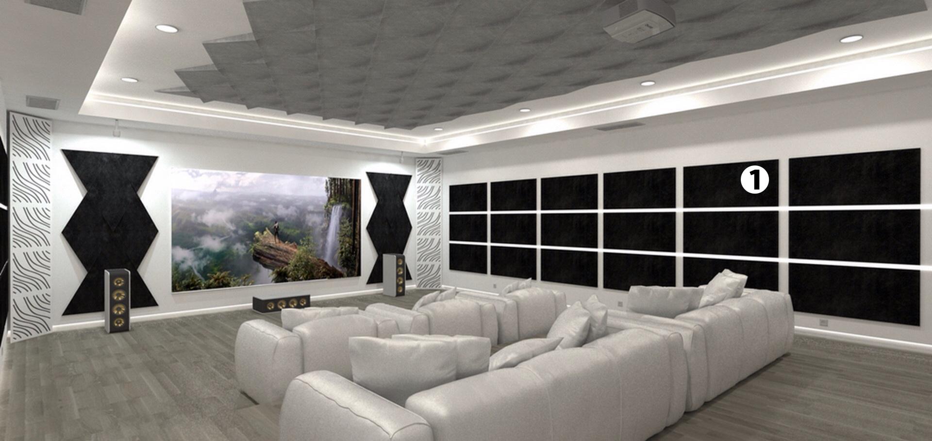acondicionamiento acustico home-cinema